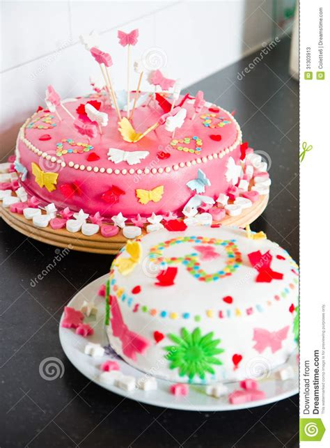 images of cakes decorated delicious marzipan decorated cakes stock photos image