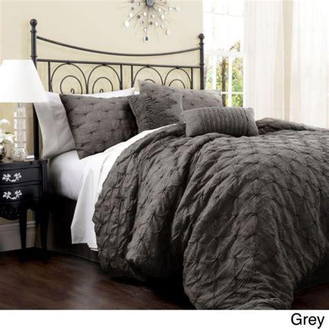 king size grey comforter set beautiful rich 7 pc modern brown gold bronze