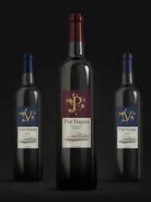 spanish red wine label designed for a distributor in m 225 laga