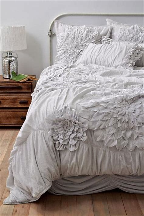 light grey bedding set georgina duvet cover light grey anthropologie