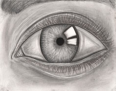 Pencil Artwork Images by Graphite Pencil Eye Drawing By Pen Tacular Artist On