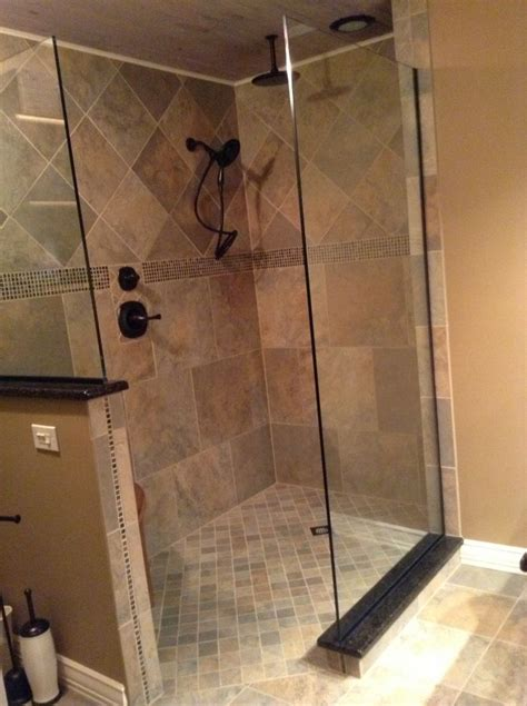 building a bathroom shower barrier free shower innovate building solutions