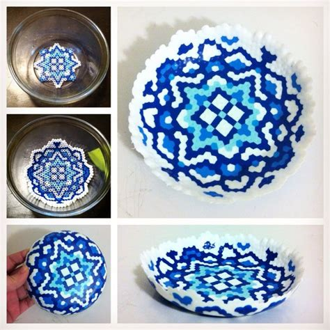 how to melt perler 17 best ideas about bead bowl on melted bead