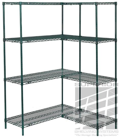 nexel wire shelving unique green wire shelving nexel poly green anti microbial