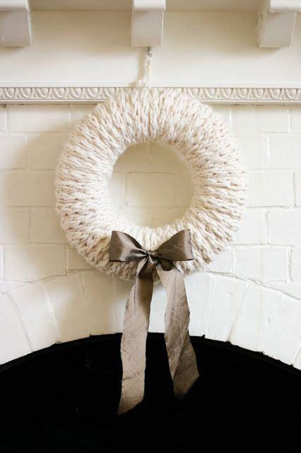 finger knit wreath finger knit wreath a five fabulous finger knitting project