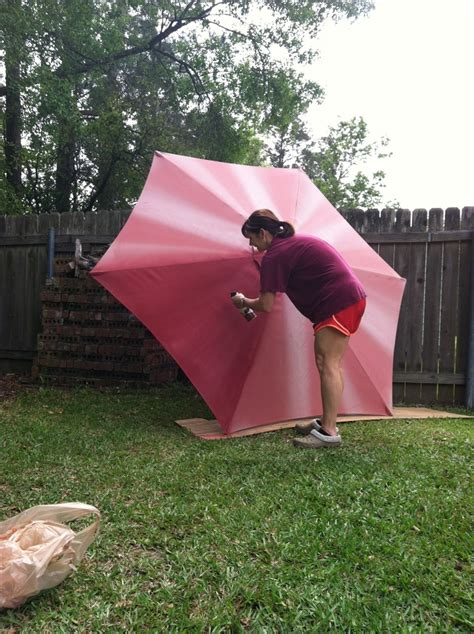 spray paint umbrella spray paint outdoor umbrella