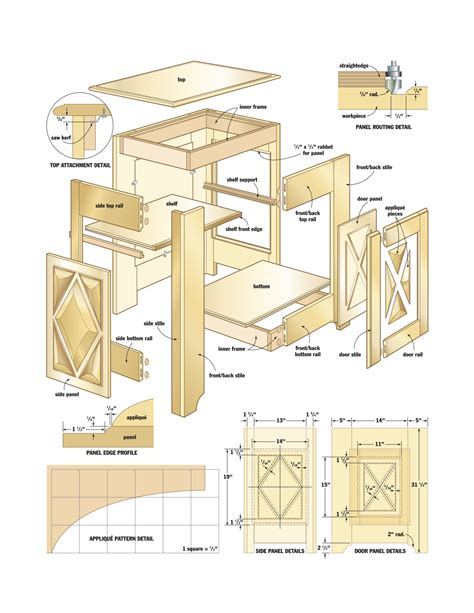 Woodwork Wood Projects Cabinet Pdf Plans