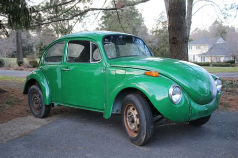 72 Volkswagen Beetle by Volkswagen Beetle Classic 1972 Green For Sale