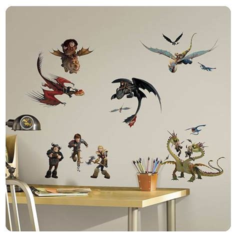 Stickers On Your Wall how to train your dragon 2 wall decals roommates how
