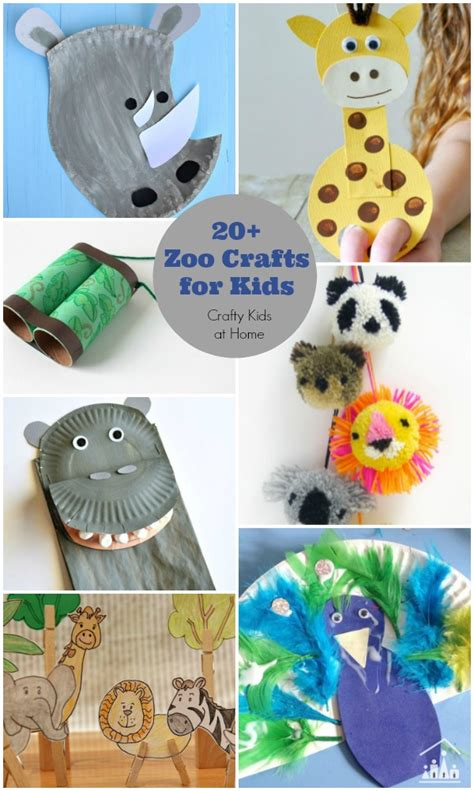 zoo crafts for 20 zoo crafts for crafty at home