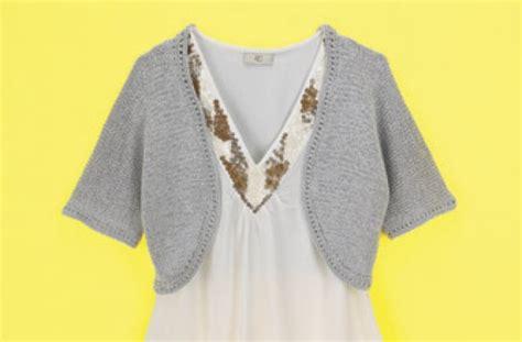 easy bolero knitting pattern bolero knit patterns 171 free patterns