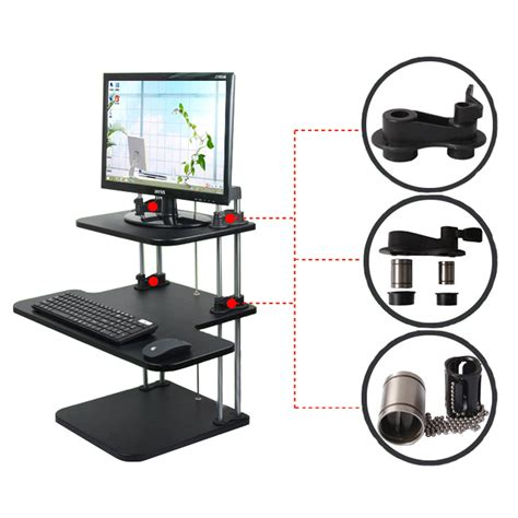 adjustable stand up sit desk ergonomic height adjustable standing desk computer sit
