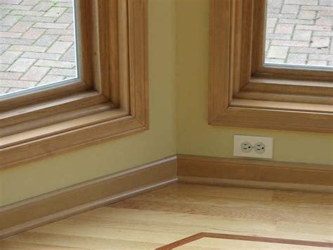woodwork trim baseboard moulding profiles feel the home