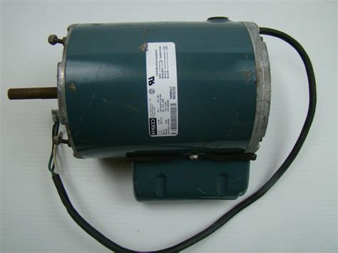 1 Hp Electric Motor by Fasco 1 2 Hp Electric Motor 115v 7128 0589 Ebay