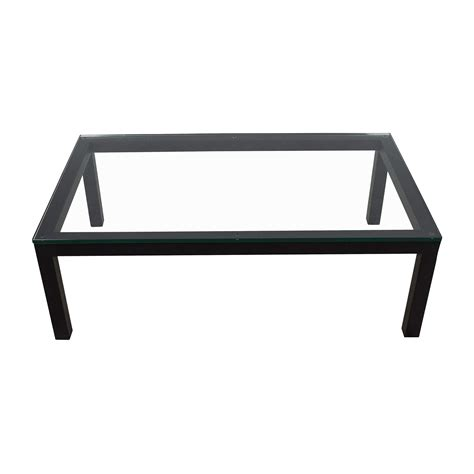parsons coffee table crate and barrel crate and barrel parsons coffee table santaconapp