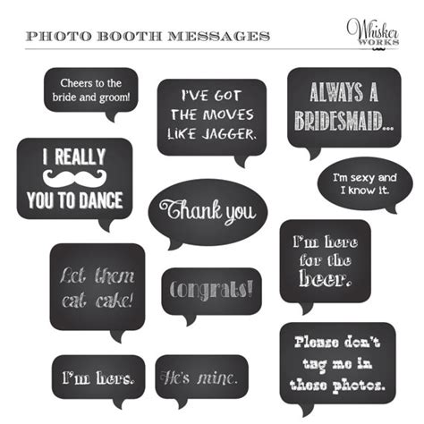diy chalkboard photo booth diy photo booth printables chalkboard signs by whiskerworks
