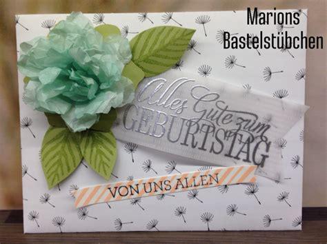 Der Besondere Garten Gutschein by Marions Bastelst 252 Bchen Gutschein Mit Knautschblume
