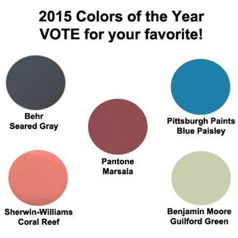 behr paint color of 2015 20 best images about 2015 colors of the year on