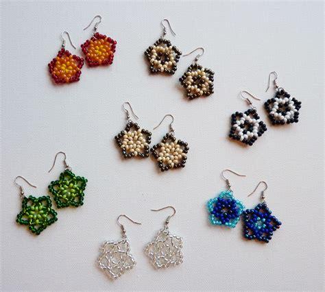 beaded earrings black diamonds rings beaded earringslargenetherwings