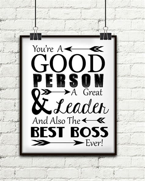what are great gifts you re a person a great leader and also the best