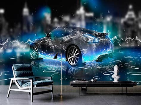 Sport Car Wallpaper For Desktop 3d Themes by Hd Wallpaper For Bedroom Walls Water Sports Car 3d Wall