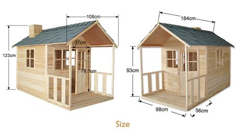 Granny Flats Floor Plans outdoor playhouse wooden cubby house with windows and