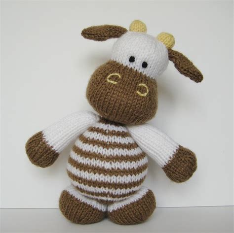 knitted toys patterns free milkshake the cow knitting pattern on luulla