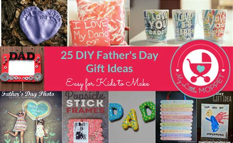 ideas for fathers day 25 easy diy s day gift ideas
