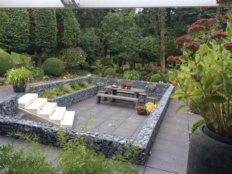 Garten Gestalten Obstbäume by Votre Terrasse En Gabions Un Point Central De Votre