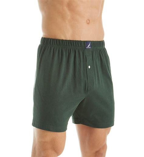 knit boxers h60107 100 cotton knit boxer ebay