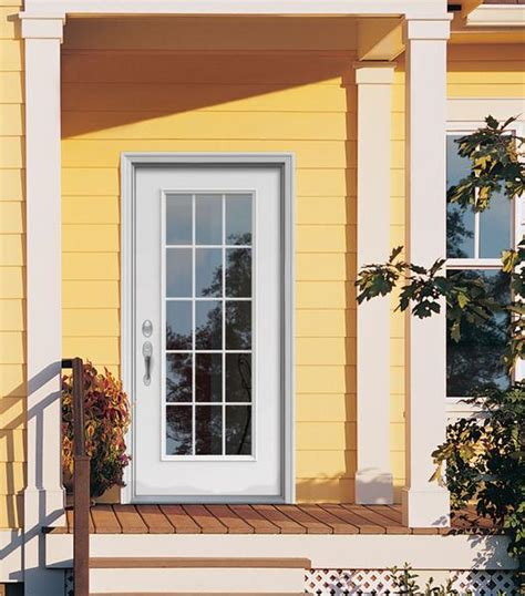 steel glass panel exterior door exterior doors wallington supply