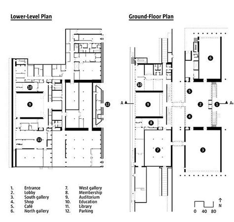 kimbell museum floor plan the renzo piano pavilion at the kimbell museum