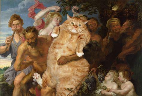 do cat painting magazine arts