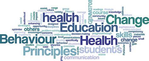 principles of health education amp behaviour change