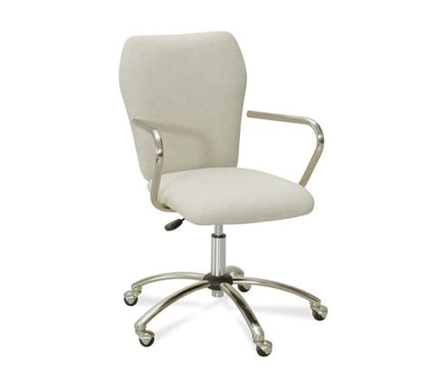 Desk Chairs by Airgo Swivel Desk Chair Pottery Barn