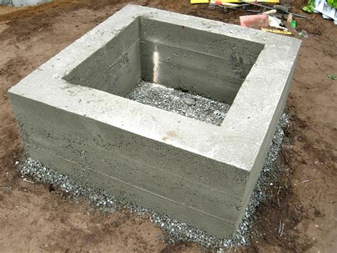 concrete pits easy way to make a concrete pit pit design ideas