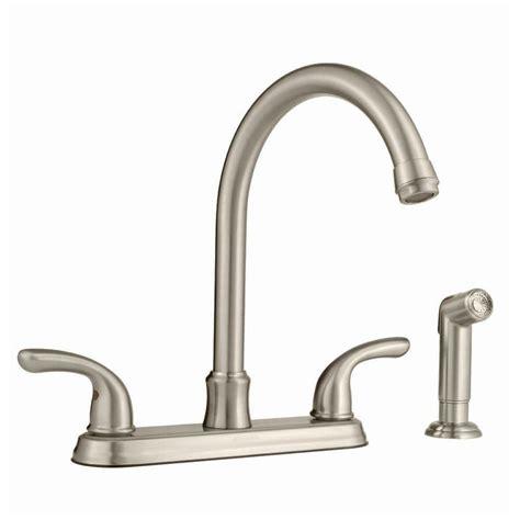 glacier kitchen faucet glacier bay builders hi arc kitchen faucet with joss