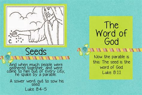 parable of the sower crafts for parable of the sower day 12