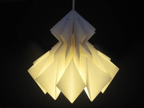 origami light shades jaycie origami lshade white by jaycieydesigns