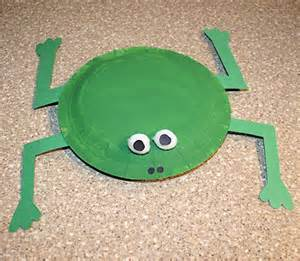 paper plate frog craft preschool crafts for easy paper plate frog crafts