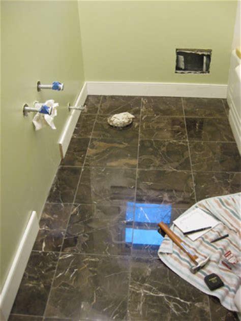 bathroom baseboard ideas bathroom renovation how to install baseboards trim house