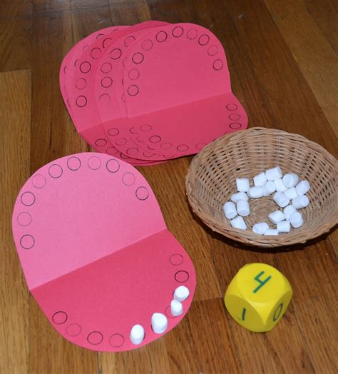 health crafts for from the hive dental health