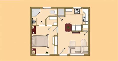 tiny house plans 500 square