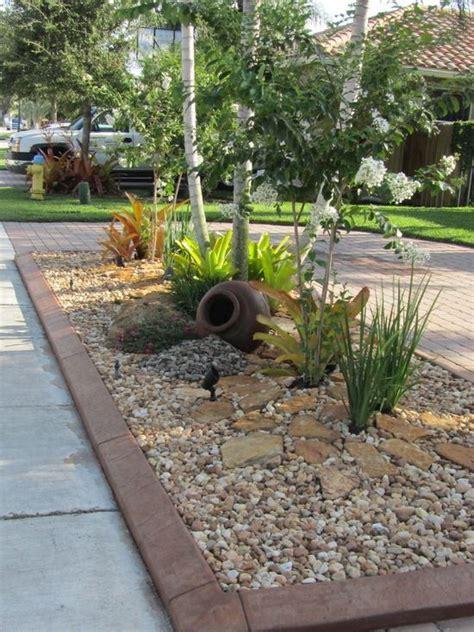 rock garden landscaping ideas best 25 rock yard ideas on garden ideas with