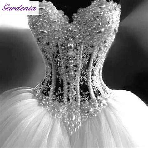 beaded corset wedding dress vintage princess gown wedding dresses 2015 see