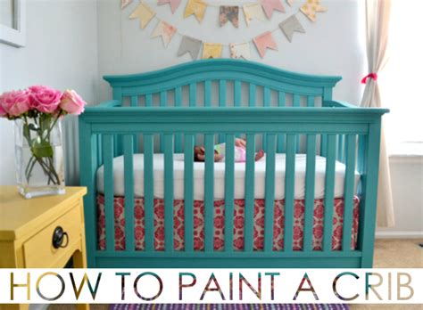 baby safe paint for crib how to paint a crib project nursery