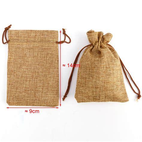 mini burlap 20 x mini hessian burlap favor bags wedding rustic burlap bag