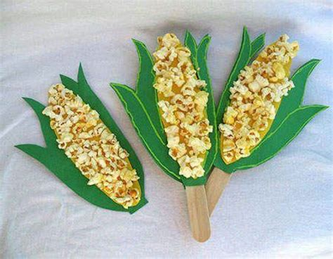 corn craft for cool projects for at home and school