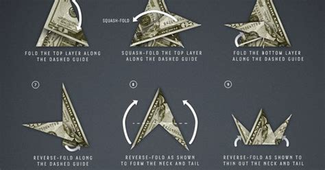 money origami crane how to fold a paper crane just like underwood