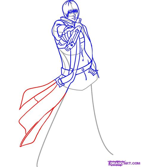 to draw how to draw dante step by step characters